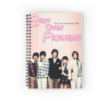 Boys Over Flowers Spiral Notebook