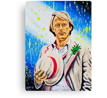 The Athlete Canvas Print