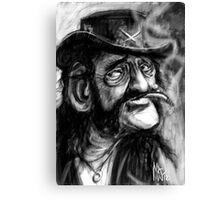 Lemmy, Killed by Death. Canvas Print