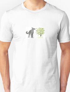 enime dog & tree T-Shirt