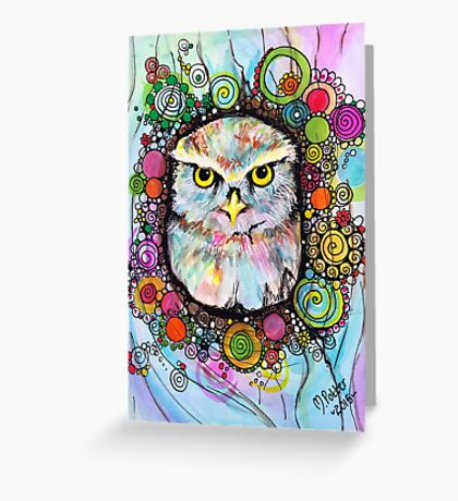 Willow the Owl Greeting Card