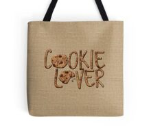 Cookie Lover Delicious Chocolate Chip Yummy Burlap Tote Bag