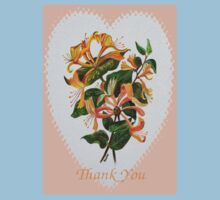 Thank You with Honeysuckle One Piece - Short Sleeve