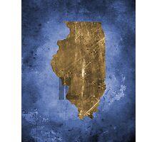 Illinois Texture Photographic Print