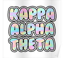 Kappa Alpha Theta Poster