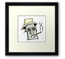 Fear and Loathing in Las vegas Framed Print
