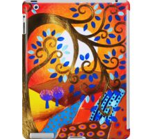 Red landscape iPad Case/Skin