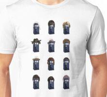 Tardis Hair - Doctor Who Unisex T-Shirt