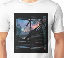 Broken window Unisex T-Shirt