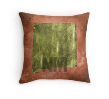 New Mexico Texture Throw Pillow