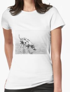 Follow your nose Womens Fitted T-Shirt
