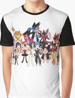 Super Pokeronpa 2 Graphic T-Shirt