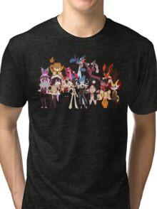 Super Pokeronpa 2 Tri-blend T-Shirt