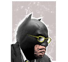 The BernMan for President Photographic Print