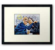 Stag Party Framed Print