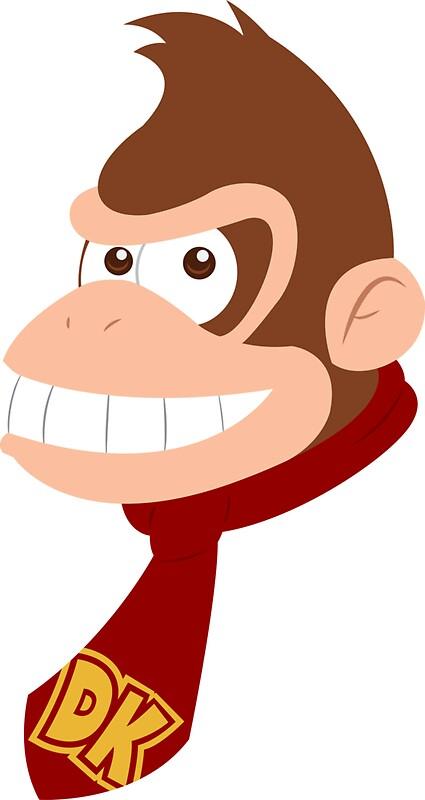Donkey Kong Stickers by HatDog Redbubble
