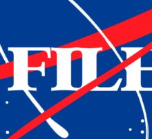 The Nasa Files  Sticker