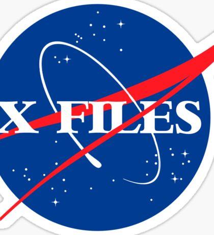 The Nasa Files  Sticker