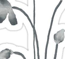 Ink flower negative Sticker