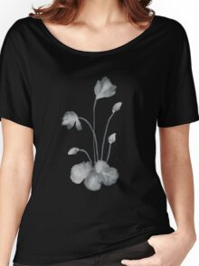 Ink flower negative Women's Relaxed Fit T-Shirt