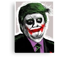 Joker Trump — Why so Serious? Canvas Print
