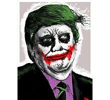 Joker Trump — Why so Serious? Photographic Print