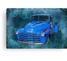 Chev Pickup Canvas Print