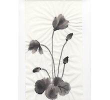 Ink flower Photographic Print