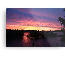 Sunset over Rathluba 2 Metal Print