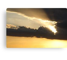 Sunset over Rathluba 3 Canvas Print