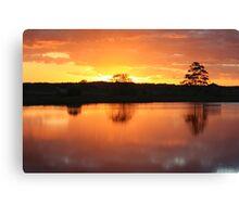 Sunset Over Rathluba 5 Canvas Print