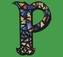 Letter P Kids Tee