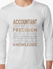 Accountant Long Sleeve T-Shirt