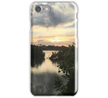 Sunset over Rathluba 6 iPhone Case/Skin