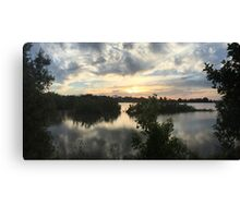 Sunset over Rathluba 6 Canvas Print