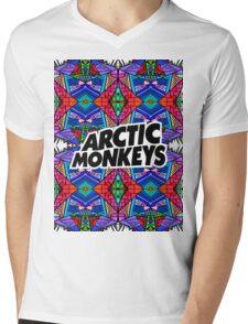 Arctic Monkeys - Trippy Pattern 3 Mens V-Neck T-Shirt