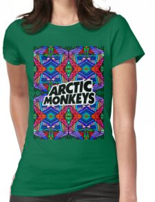 Arctic Monkeys - Trippy Pattern 3 Womens Fitted T-Shirt