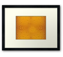 Beer pattern 8868 Framed Print