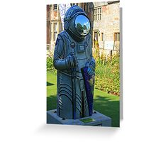 The Astro Baron Greeting Card