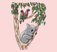Sweet Dreams Sleeping Koala Kids Tee