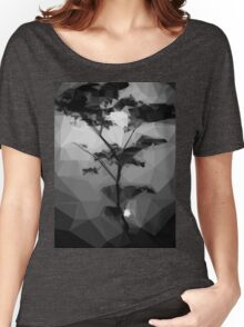 Graphical Landscape Women's Relaxed Fit T-Shirt