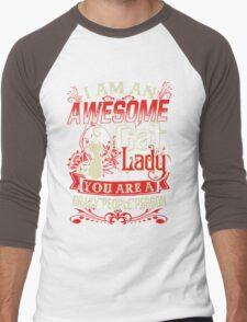 crazy cat lady-crazy people Men's Baseball ¾ T-Shirt