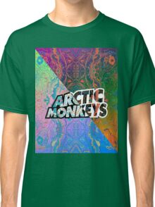 Arctic Monkeys - Colorful Pattern 1 Classic T-Shirt