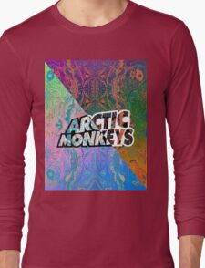 Arctic Monkeys - Colorful Pattern 1 Long Sleeve T-Shirt
