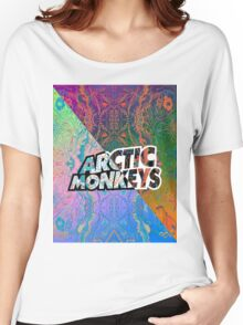 Arctic Monkeys - Colorful Pattern 1 Women's Relaxed Fit T-Shirt