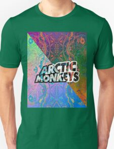 Arctic Monkeys - Colorful Pattern 1 Unisex T-Shirt