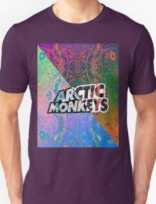 Arctic Monkeys - Colorful Pattern 1 Unisex T-Shirt
