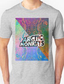 Arctic Monkeys - Colorful Pattern 1 T-Shirt