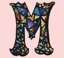 Letter M Baby Tee