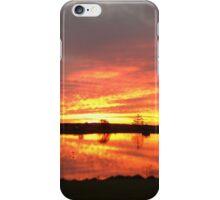 Sunset over Rathluba 10 iPhone Case/Skin